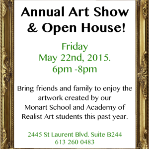 Annual Art Show & Open House!